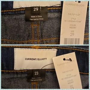 Current/Elliott Jeans - Current/Elliot Flip Flop Jeans in Westry